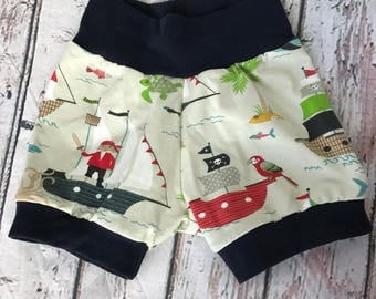 Kids pirate 18-24 months shorts