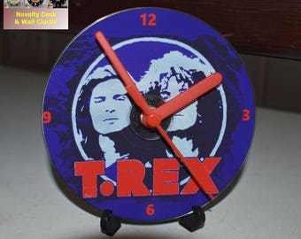 T.Rex Clock 12cm