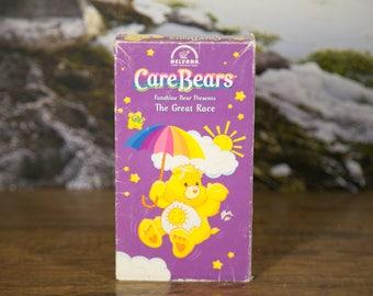 Care Bears - Funshine Bear Presents - The Great Race - VHS Tape