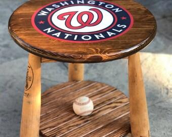 Baseball Side Table