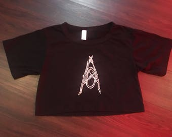 Abandoned Nature Co. Logo Cropped Shirt