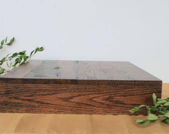 16x16 Wedding Cake Stand, Grooms Cake, Square Cake Stand, Stacking Cake/Cupcake Stand, Reclaimed Wood, Rustic Cake Stand, Custom Cake Stand