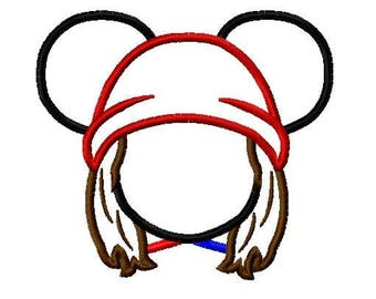 Character Mouse Simple Jay Rotten Wicked Embroidery Applique Design - Quick and Easy Design