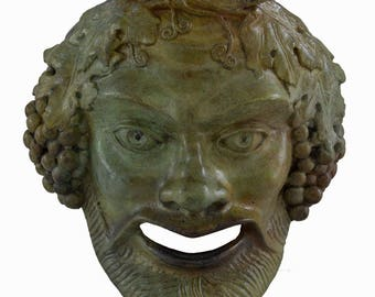 "Bronze mask of Bacchus ""the liberator"""