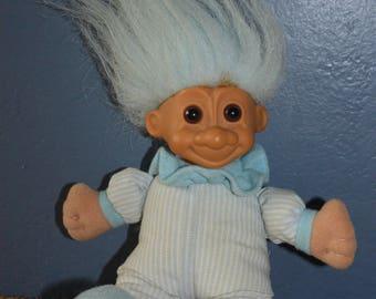 Soft Bodied Troll Doll