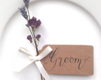 Wedding Favours, Dried Flower Wedding ideas, Gift Tags, Thank you tags, Name Place settings, Wedding Stationery, Unique Wedding ideas