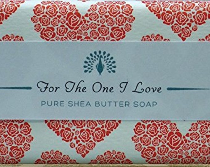 Love  Valentine Shea Butter Pure Indulgence Soaps Bath Soap-200g
