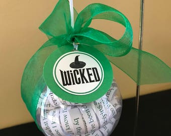 Wicked Ornament; Musical Theatre; Opening Night Gift