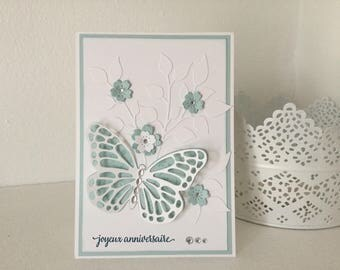 """Happy birthday"" greeting card craft"