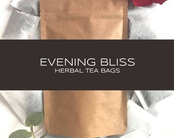 Evening Bliss Exquisite Blended Herbal Tea Bags