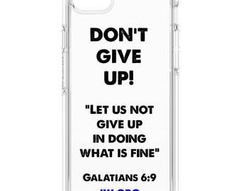 Jw Gift  iPhone Case   DON'T GIVE UP 2017 Regional Convention   pioneer gift present   Baptism   Elder's Gift   Bethelite Jw Org