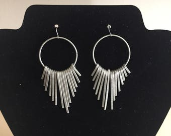 Gunmetal Earrings