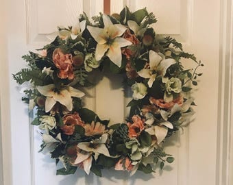 Spring Wreath, Easter Wreath, Summer Wreath