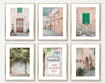 Home Decor // Gift Decor // Spain Prints Set of 6 // Gallery Wall Art Set // Palma de Mallorca
