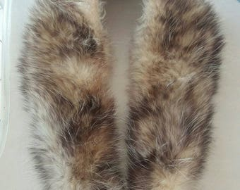 Possum Fur collar genuine vintage