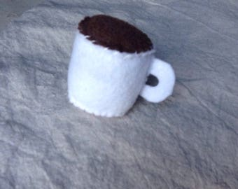 Coffee Cup Catnip Toy