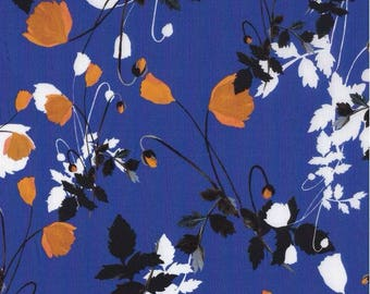 Fabric liberty poppy dream c