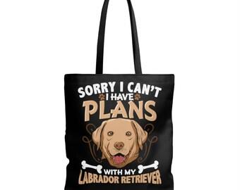 Labrador Retriever Dog Aop Tote Bag