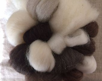 "wool ""tasting"" kit - make yarn"