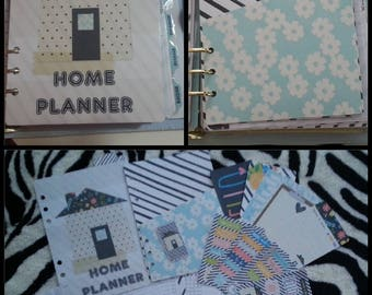 Home Planner set for HP Classic, A5/Large Planner, Personal/medium planner, Pocket set composed of 67 pieces. Details in the description