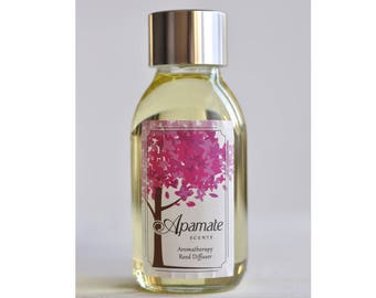 Reed Diffuser Refill. Reed Diffuser & Refill by Apamate Scents. A Room diffuser refill with Lemon and Verbena Essential oils. Hallway scent