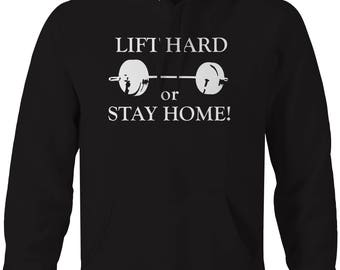 Motorcycle - Ride Hard or Stay Home Hooded Sweatshirt- U246