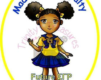 Future SGRho Shirt, Sigma Gamma Rho Legacy Shirt, Future Sigma Shirt, Royal Blue & Gold, Blue and Gold, SGRho RHOyalty, Sigma Gamma Rho