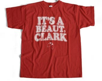 Christmas Vacation Shirt T New It's A Beaut Clark Griswold Holiday Funny Ring Spun Soft Style Adult T-Shirt