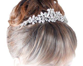 Crystal Tiara, Wedding Tiaras, Wedding Tiaras, Bridal Tiara, Tiaras For Wedding. Tiaras And Crowns, Tiars For Brides, silver tiaras, bridal