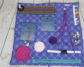 Fidget Blanket