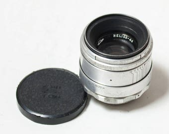 TESTED Helios-44 M39 8 BLADES 58 mm f/2 M39 Slr vintage Soviet Lens. Fits Zenit, Pentax, Canon, Sony and more. Near MINT