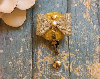 Sweeter Than Yesterday- Nurse Retractable ID Badge Reel/ RN Badge Holder/Doctor Badge Reel/Nurse Badge Holder/Nursing Student Gift