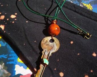 Burnt Orange Babe Necklace