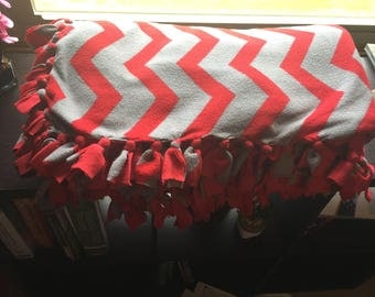 Hand-Made Tie Blankets-Large