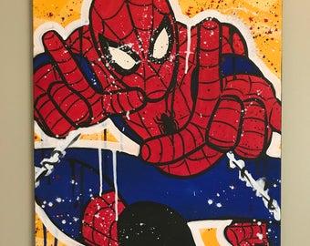 Web Head (Spider-Man) - 16x20 in