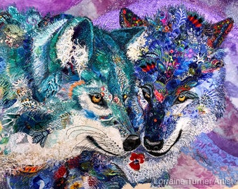 Wolves Whispering in the Wind