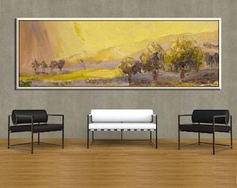 Extra Large Wall Art, Contemporary Art, Forest Art, Canvas Art, Tree Art
