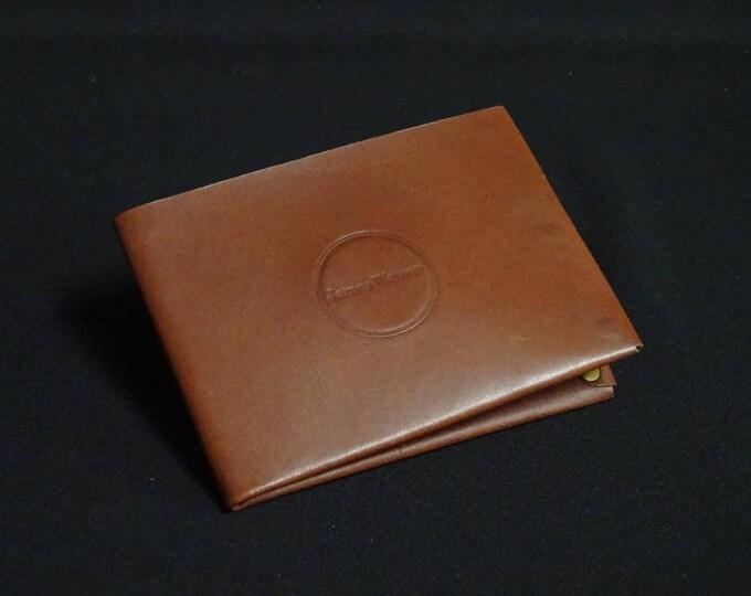 6Pocket Wallet - Brown Tan - Kangaroo leather with RFID credit card blocking - Handmade - Mens/Womens - James Watson