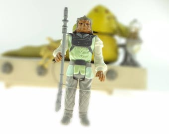 Nikto Action Figure - Star Wars - Complete With Weapon - 1983 Lucas Film Limited - LFL