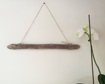 "Soft Driftwood Stick For Wall Hanging Crafts & Decorations - 20.5"" Driftwood Dowel For Woven Wall Hanging Macrame"