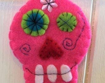 Sugar skull bunting