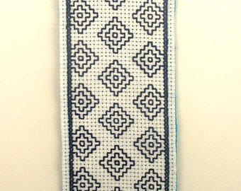 Japanese Sashiko embroidery bookmarks