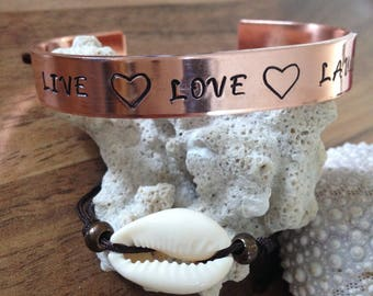 Text bracelets. Personalised!! Your own text on an ornament.