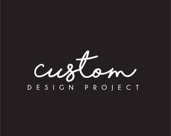 Custom Design Project | Branding Package | Business Branding | Creatives | Photographer | Event Stylist