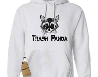 Trash Panda Raccoon Adult Hoodie Sweatshirt