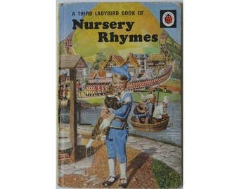 A Third Ladybird Book of Nursery Rhymes. 1970s vintage, good condition.