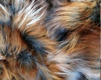 Fox fur scraps