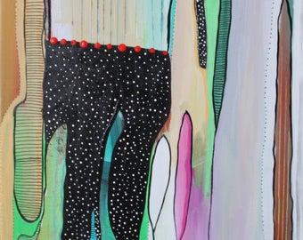 12 x 16 original acrylic painting on canvas