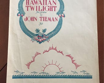 Framable Vintage Sheet Music