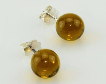 Ear studs olivien (transparent)